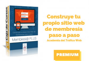 Curso Construye tu Propio Sitio Web de Membresías