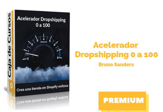 Acelerador Dropshipping cero a 100 - Bruno Sanders descargar gratis