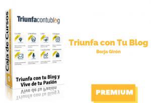 Curso Triunfa con Tu Blog