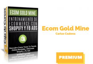Curso Ecom Gold Mine – Carlos Cadena