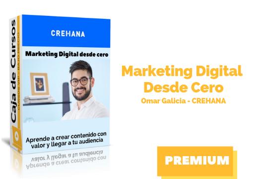 Curso Marketing Digital Desde Cero crehana descargar gratis