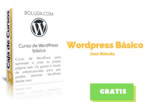 Curso Básico WordPress – Joan Boluda