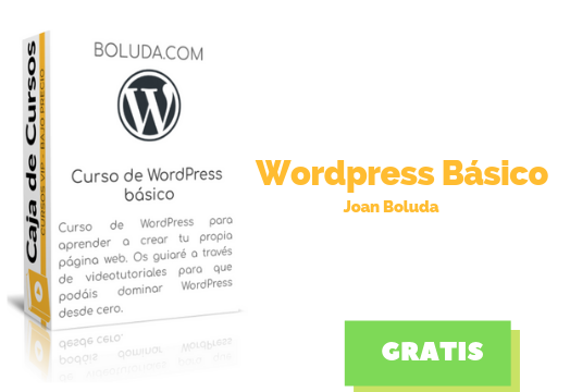 Curso WordPress Basico Joan Boluda descargar gratis