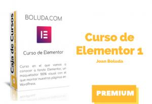 Curso Elementor Básico – Joan Boluda