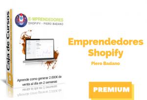 Curso Emprendedores Shopify