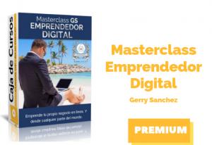 Masterclass GS: Emprendedor Digital