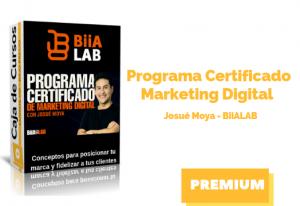 Programa Certificado Marketing Digital