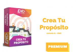 Crea tu Propósito END -Antonio G.