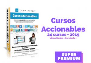 Cursos Accionables – Vilma Nuñez