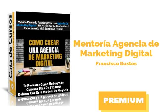 Mentoría Agencia de Marketing Digital
