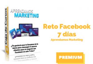 Curso Reto Facebook 7 días – Aprendamos Marketing