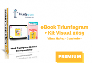 Libro + Kit Visual Triunfagram 2019