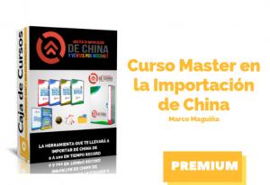 Master en la Importación de China
