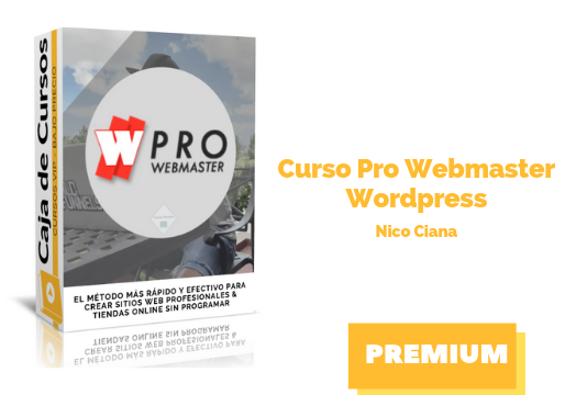 Curso Pro Webmaster WordPress