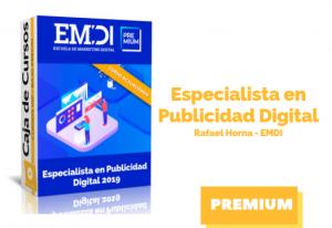 Especialista en Publicidad Digital 2019