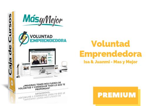 Voluntad Emprendedora – Isa & Juanmi