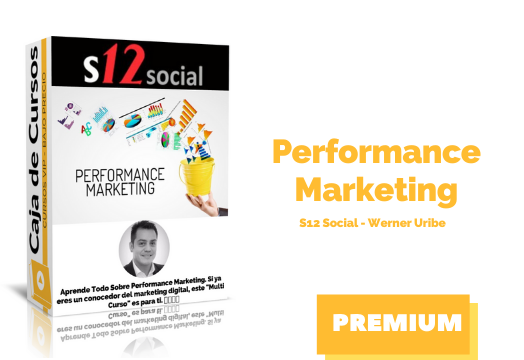 Curso Performance Marketing – Werner Uribe