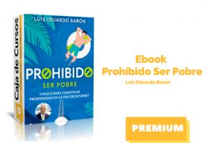 Ebook Prohibido ser pobre
