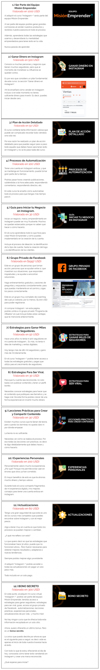 Curso Virtual Instagram Plus