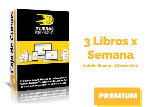 Curso 3 Libros por Semana – Gabriel Blanco