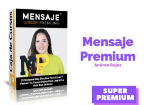 Curso Mensaje Premium Andrea Rojas