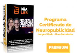 Programa Certificado de Neuropublicidad – Jurgen Klaric y Nora Sarmiento