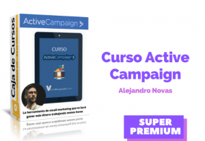 Lee más sobre el artículo Curso Active Campaign Alejandro Novas