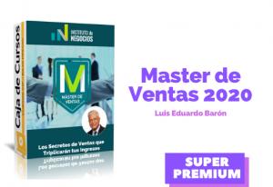 Master de Ventas – Luis Eduardo Barón