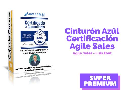Cinturón Azul – Agile Sales & Marketing