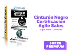 Cinturón Negro – Agile Sales & Marketing