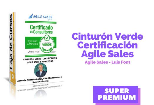 Cinturón Verde – Agile Sales & Marketing