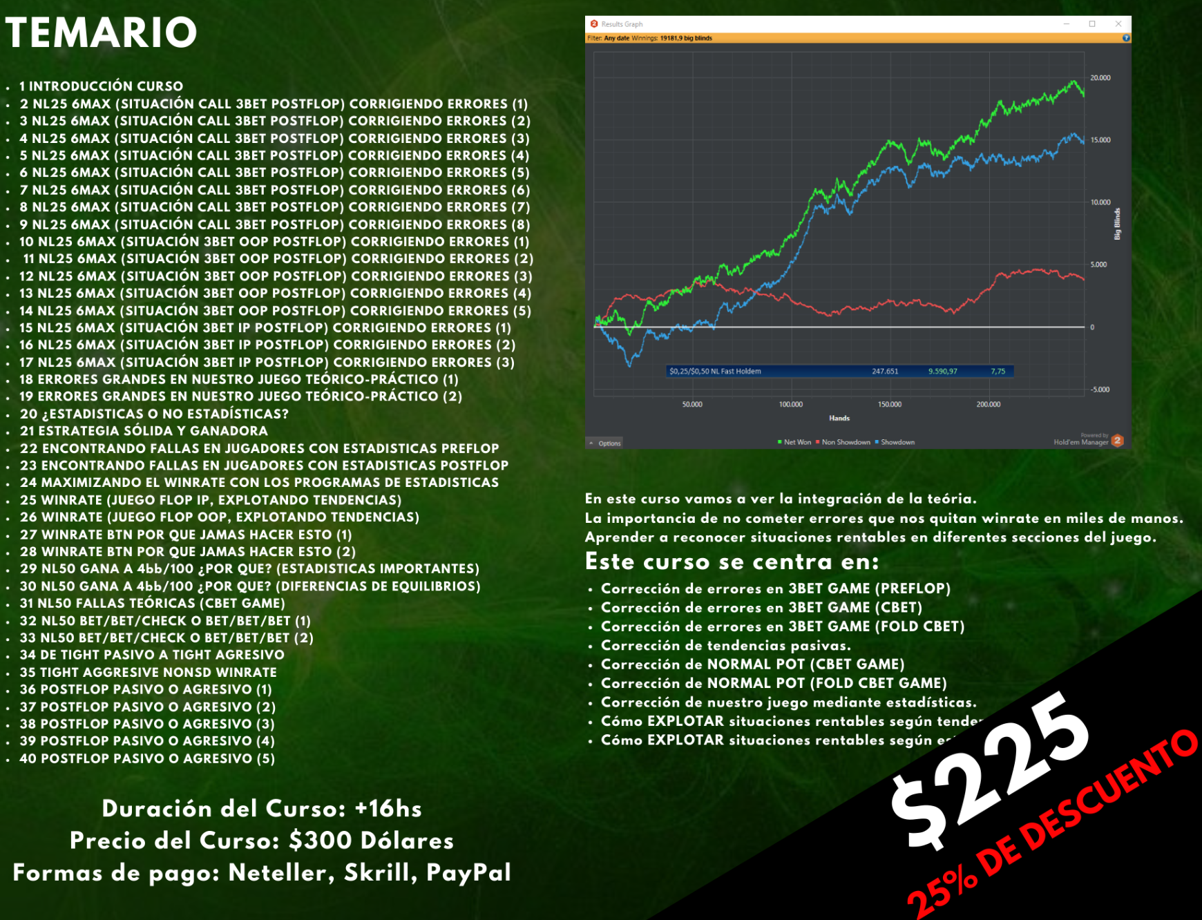 Curso Práctico Intermedio Poker - David Díaz