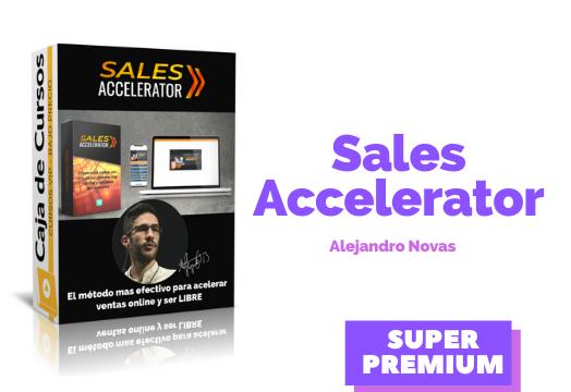 Sales Accelerator – Alejandro Novas