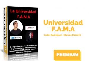 Curso Universidad FAMA – Javi Rodríguez y Marcos Razzetti