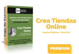 Crea tiendas Online desde cero