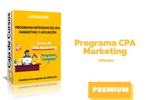 Curso Afiliador – Programa CPA Marketing
