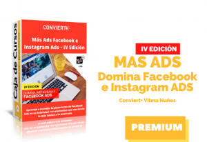 Curso Más Ads Facebook e Instagram con Vilma Nuñez