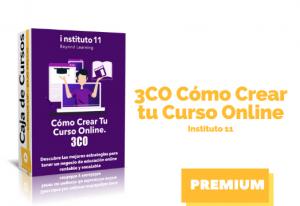 Curso 3CO Como Crear tu Curso Online – Instituto11