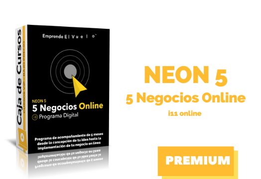 En este momento estás viendo Curso NEON5 – 5 Negocios Online – instituto11