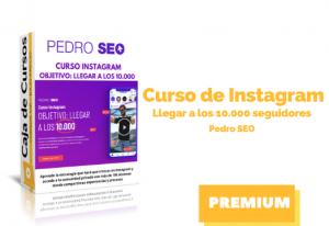 Curso de Instagram – Llegar a los 10.000 seguidores – Pedro Seo