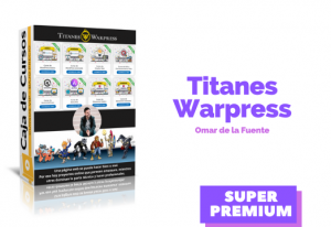 Lee más sobre el artículo Titanes Warpress Omar de la Fuente