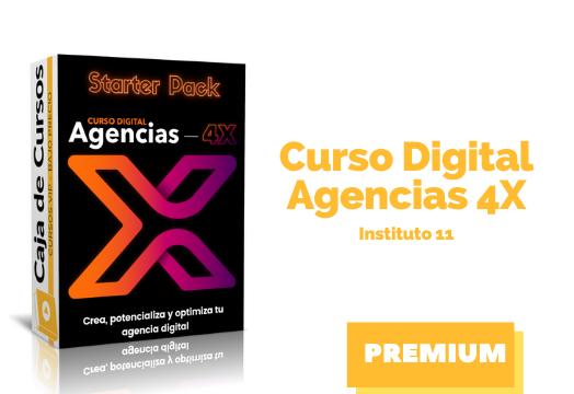 En este momento estás viendo Curso Digital Agencias 4X – Instituto 11