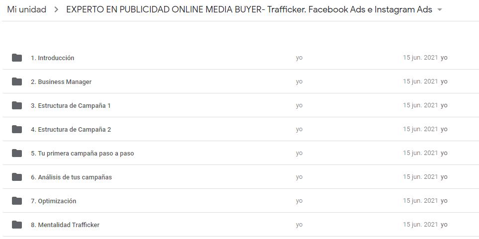 Curso Experto en Publicidad Online Media Buyer