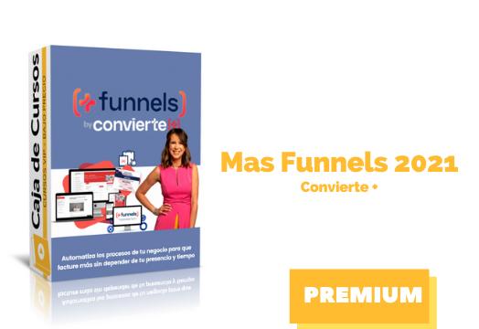 En este momento estás viendo Curso Mas Funnels – Convierte MAS