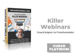 Lee más sobre el artículo Killer Webinars Franck Scipion