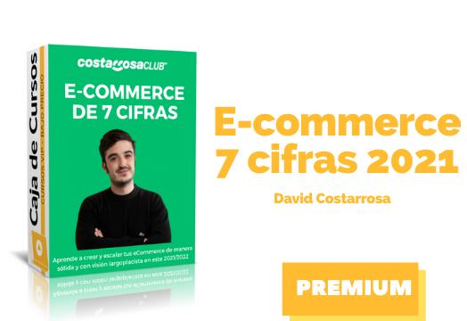 En este momento estás viendo Ecommerce de 7 cifras de David Costarrosa