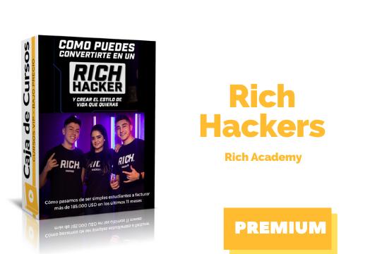 En este momento estás viendo Curso Rich Hackers de Rich Academy